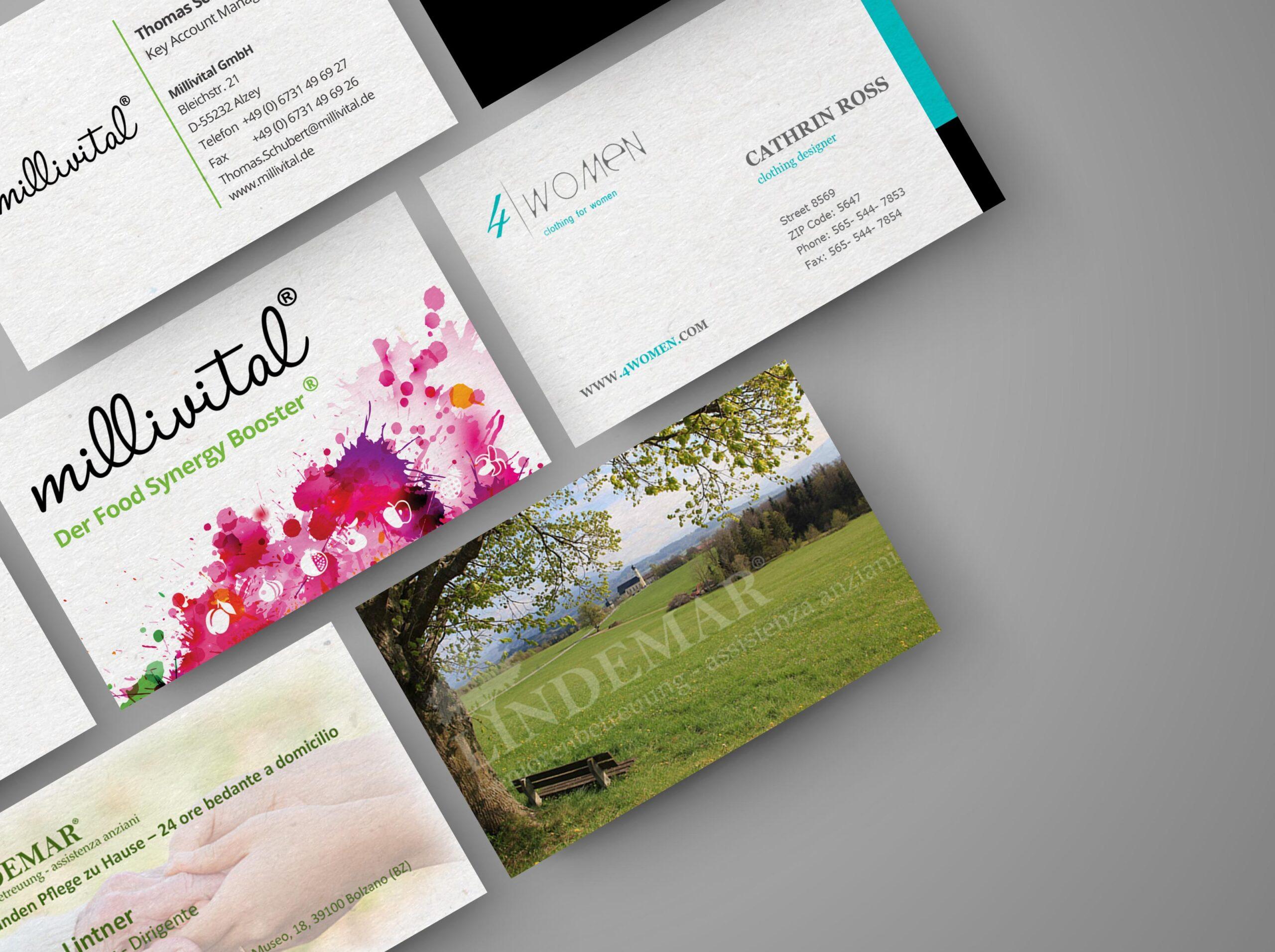 Business Cards Mockup Webirian