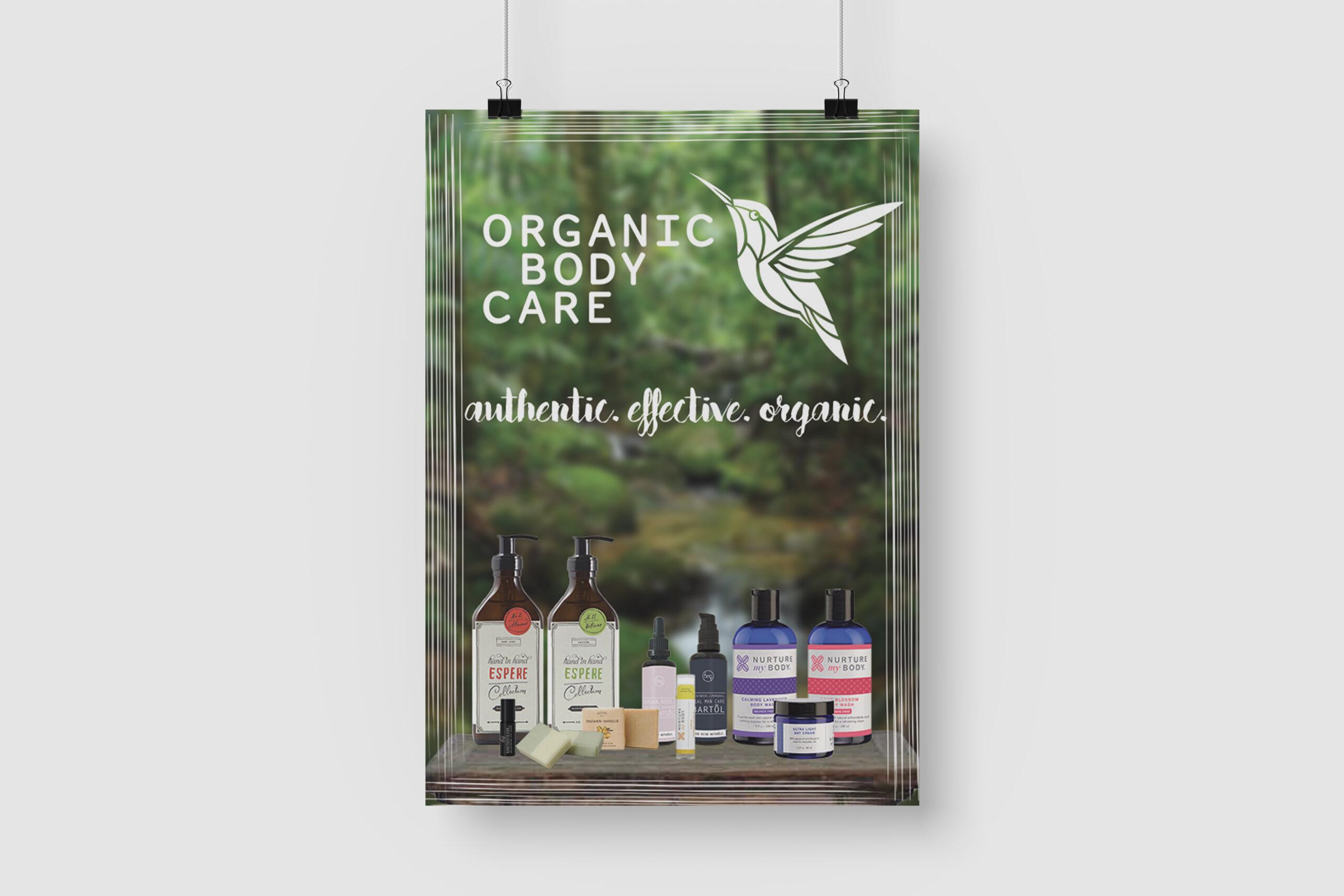 organic poster design webirian